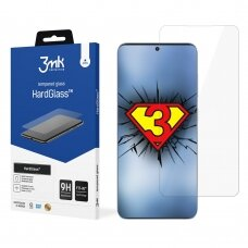 3MK Tempered glass for Huawei P50 Hard Glass, Transparent