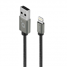 Acme Cable CB2031G 1 m, Space Gray, Lightning, USB A