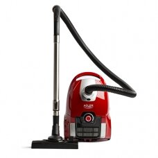 Adler Vacuum Cleaner AD 7041 Bagged, Power 700 W, Dust capacity 3 L, Red