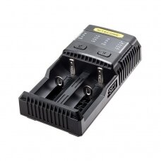 BATTERY CHARGER 2-SLOT/SUPERB CHARGER SC2 NITECORE