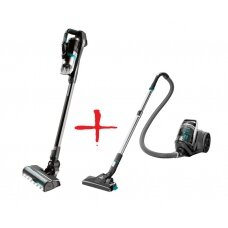 Bissell Bundle of Icon Pet Hand & Stick Vacuum Cleaner & SmartClean Compact Vacuum Cleaner