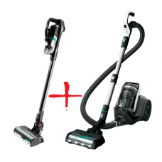 Bissell Bundle of Icon Pet Hand & Stick Vacuum Cleaner & SmartClean Pet Vacuum Cleaner Cordless operating, Handstick and Handheld, 25.2 V, Operating time (max) 50 min, Black, Warranty 24 month(s), Battery warranty 24 month(s)