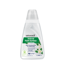 Bissell Natural Multi-Surface Floor Cleaning Solution for  Bissell CrossWave, SpinWave, SpinWave Robot & HydroWave machines, 2000 ml