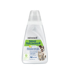 Bissell Natural Multi-Surface Pet Floor Cleaning Solution for  Bissell CrossWave, SpinWave, SpinWave Robot & HydroWave machines, 2000 ml