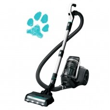 Bissell SmartClean Pet Vacuum Cleaner Bagless, Power 770 W, Dust capacity 3 L, Blue/Silver/Titanium