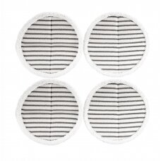 Bissell SpinWave Pads - 4 x Scrubby White