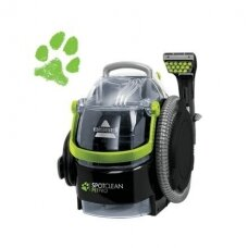 Bissell Spot Cleaner SpotClean Pet Pro Corded operating, Handheld, Washing function, 750 W, Green/Titanium, Warranty 24 month(s)