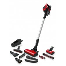 Bosch Dulkių siurblys Unlimited ProAnimal BBS61PET2 Cordless operating, Handstick and Handheld, 18 V, Operating time (max) 30 min, Red/Black, Warranty 24 month(s), Battery warranty 24 month(s)