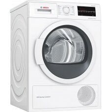 Bosch Džiovyklė WTW85L48SN  Energy efficiency class A++, Condensed, 8 kg, Condensation, LED, Depth 60 cm, White, SelfCleaning Condenser