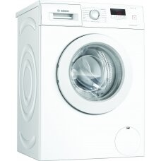 Bosch Serie 2 Washing Mashine WAJ240L7SN Energy efficiency class D, Front loading, Washing capacity 7 kg, 1200 RPM, Depth 55 cm, Width 60 cm, Display, LED, Direct drive, White