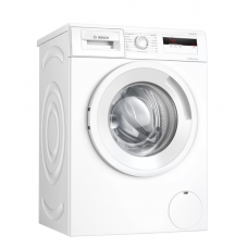 Bosch Serie 4 Skalbimo mašina WAN240L2SN Energy efficiency class D, Front loading, Washing capacity 7 kg, 1200 RPM, Depth 55 cm, Width 60 cm, Display, LCD, White