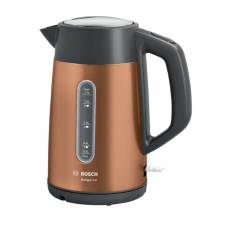 Bosch Virdulys TWK4P439 Electric, 2400 W, 1.7 L, Stainless steel, Copper, 360° rotational base