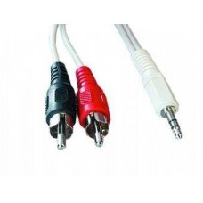 CABLE AUDIO 3.5MM TO 2RCA 5M/CCA-458-5M GEMBIRD