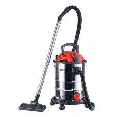 Camry Professional industrial Dulkių siurblys CR 7045 Bagged, Wet suction, Power 3400 W, Dust capacity 25 L, Red/Silver