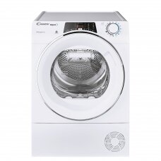 Candy Džiovyklė  ROE H9A2TCEX-S Energy efficiency class A++, Front loading, 9 kg, Heat pump, Big Digit, Depth 58.5 cm, Wi-Fi, White