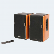 Edifier Professional Bookshelf Speakers R1380DB  Brown, Bluetooth, Wireless connection
