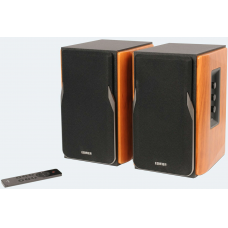 Edifier Professional Bookshelf Speakers R1380T Brown, Bluetooth, Wireless connection
