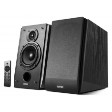Edifier Subwoofer Supported Bookshelf Speakers R1855DB  Matte black, Bluetooth, Wireless connection