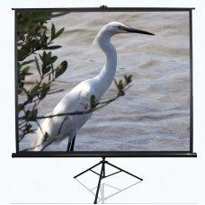 "Elite Screens Tripod Series T120UWV1 Diagonal 120 "", 4:3, Viewable screen width (W) 244 cm, Black"