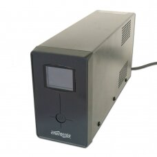 EnerGenie UPS with USB and LCD display, Black 850 VA, 510 W, 220 V