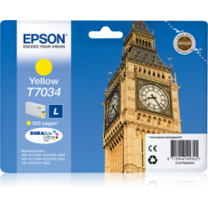 Epson T7034  Ink cartrige, Yellow