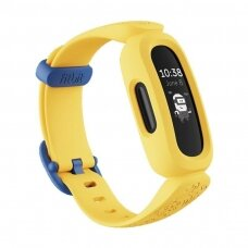 Fitbit Ace 3 Fitness tracker for Kids, Black/Minions Yellow
