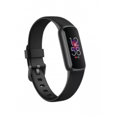 Fitbit Luxe Fitness tracker, Touchscreen, Heart rate monitor, Activity monitoring 24/7, Waterproof, Bluetooth, Black/Black