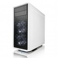 Fractal Design Focus G FD-CA-FOCUS-WT-W Side window, Left side panel - Tempered Glass, White, ATX, Power supply included No