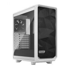 Fractal Design Meshify 2 Compact Clear Tempered Glass White