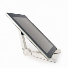 Gembird TA-TS-01/W Universal tablet stand, White