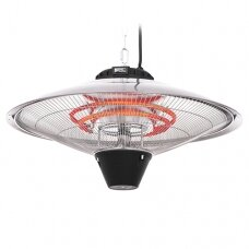 Gerlach Heater GL 7735 Patio heater, 1900-2100 W, Number of power levels 3, Suitable for rooms up to 19 m², Grey