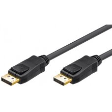 Goobay 65923 DisplayPort connector cable 1.2, gold-plated, 2m