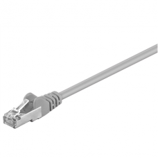 Goobay CAT 5e patchcable 50126, F/UTP RJ45 male (8P8C), RJ45 male (8P8C), 2 m, Grey