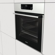 Gorenje Orkaitė BOS737E13X 71 L, Electric, AquaClean, Steam function, Height 59.5 cm, Width 59.7 cm, Stainless steel
