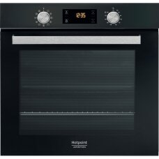 Hotpoint Orkaitė FA5 841 JH BL HA 71 L, Electric, Hydrolytic, Knobs and electronic, Height 59.5 cm, Width 59.5 cm, Black