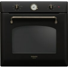 Hotpoint Orkaitė FIT 801 H AN HA 73 L, Built-in, Steam cleaning, Mechanical, Height 59.5 cm, Width 59.5 cm, Anthracite