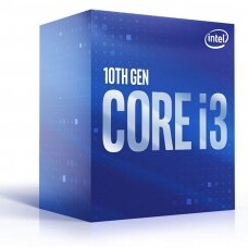 Intel i3-10320, 3.8 GHz, LGA1200, Processor threads 8, Packing Retail, Processor cores 4, Component for PC