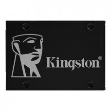 "Kingston KC600 256 GB, SSD form factor 2.5"", SSD interface SATA, Write speed 500 MB/s, Read speed 550 MB/s"
