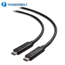 Lenovo 4Z50P35645 Thunderbolt 3 40G 5A Active Cable Cable, Black, 1 m