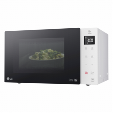 LG Microwave Orkaitė MS23NECBW 23 L, Free standing, Touch control, 1000 W, White, Defrost function