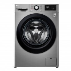 LG Skalbimo mašina F2WN2S6S6TE Energy efficiency class E, Front loading, Washing capacity 6.5 kg, 1200 RPM, Depth 46 cm, Width 60 cm, Display, LED, Steam function, Silver