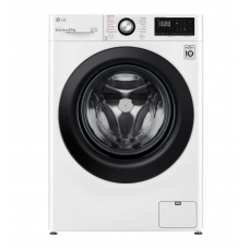 LG Washing machine F2WN2S6N6E Energy efficiency class E, Front loading, Washing capacity 6.5 kg, 1200 RPM, Depth 45.5 cm, Width 60 cm, Display, LED, Steam function, Direct drive, White