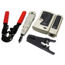 Logilink Networking Tool Set with Bag, 4 parts
