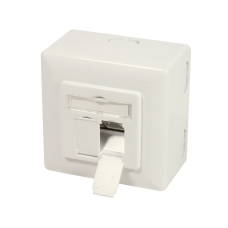 Logilink NP0006A Wall Outlet Pure White
