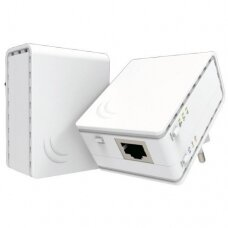 MikroTik 10/100 Mbit/s, Ethernet LAN (RJ-45) ports 1, 802.11n, Wi-Fi data rate (max) 300 Mbit/s, RouterOS (Level 4)