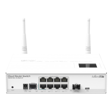 MikroTik Cloud Router Switch CRS109-8G-1S-2HnD-IN Managed, Rack mountable, 1 Gbps (RJ-45) ports quantity 8, SFP ports quantity 1, 802.11b/g/n, License level 5
