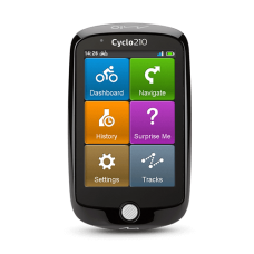 """Mio Cyclo 210 8.9cm (3.5""""), Color Display, 320 x 480, GPS (satellite), Maps included"""