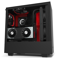 NZXT H510i Side window, Black/Red, ATX, Power supply included No