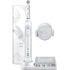 Oral-B Toothbrush Genius 10000N Rechargeable, For adults, Number of brush heads included 1, Number of teeth brushing modes 6, Lotus White