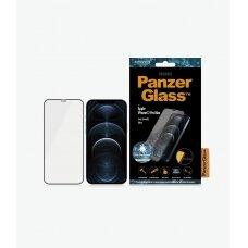 PanzerGlass Apple, For iPhone 12 Pro Max, Glass, Black, Clear Screen Protector
